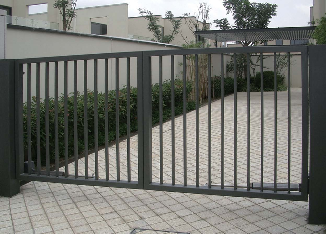 Modern Simple Aluminum Decorative Fence Philippines Gates Modern